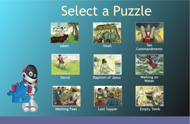 Bible Puzzles Icon